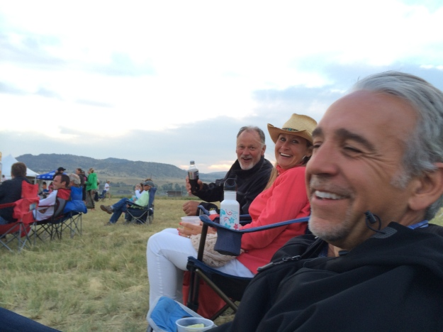 "Steve, Dede and Joe enjoying the music at the ""Moods of Madison"""