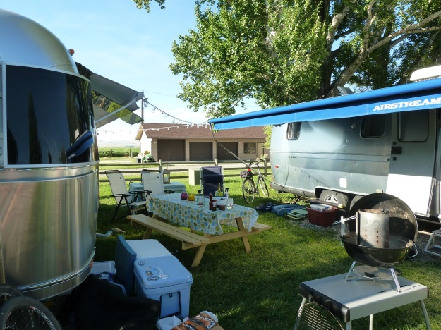 Having a little Airstream party