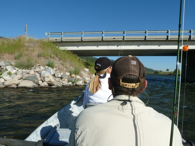 Mike and Dede on the Madison River
