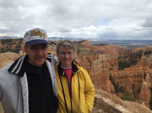 Mike and Mary at Bryce Canyon