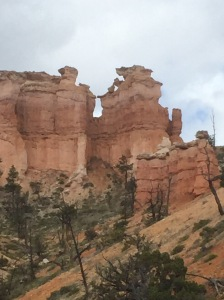 Various Hoodoos we called out what we saw in the formation